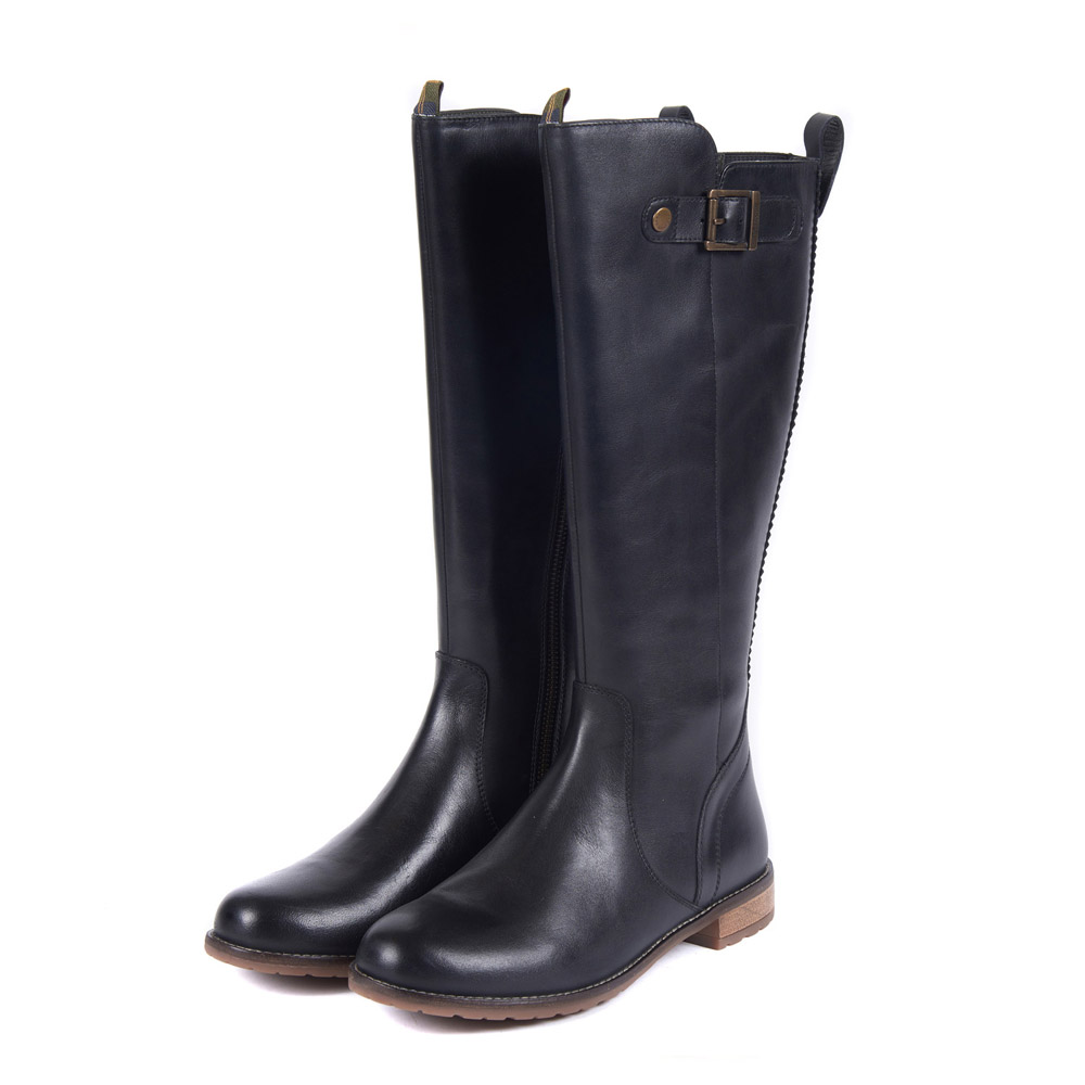 BARBOUR REBECCA BLACK BOOTS