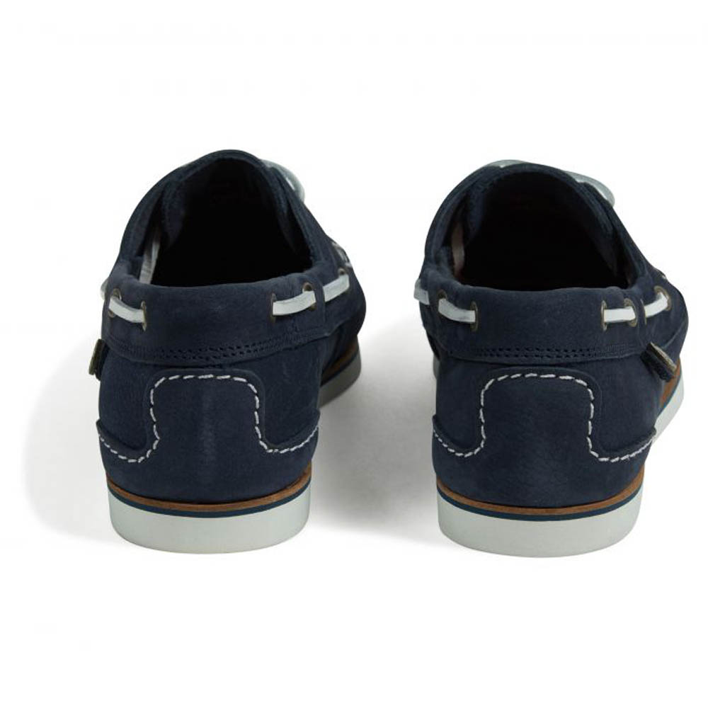 BARBOUR BOWLINE NAVY BOAT SHOES