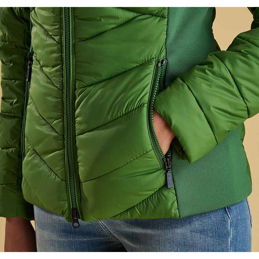 Barbour Longshore Clover Quilted Jacket