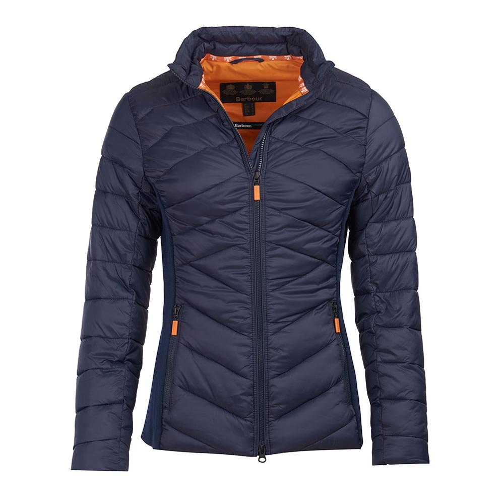 Barbour Longshore Navy Quilted Jacket