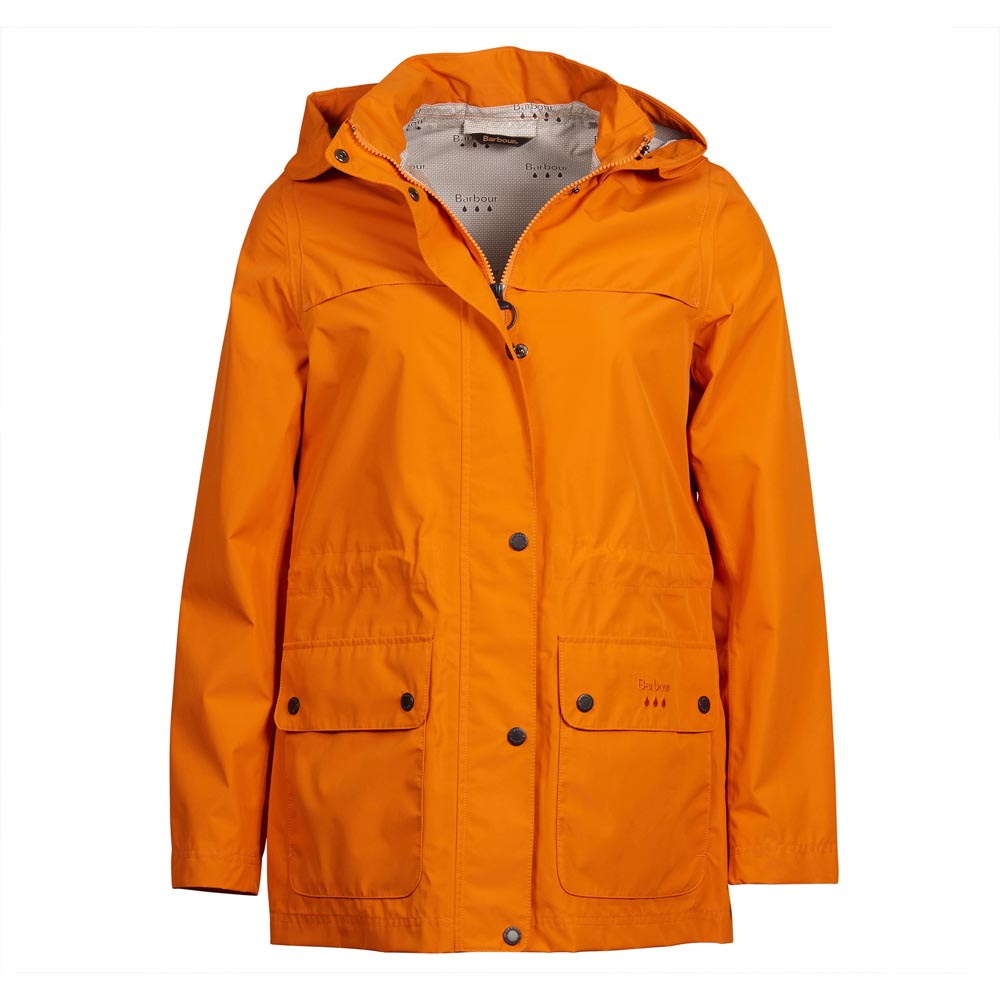 Barbour Drizzel Marigold Waterproof Jacket