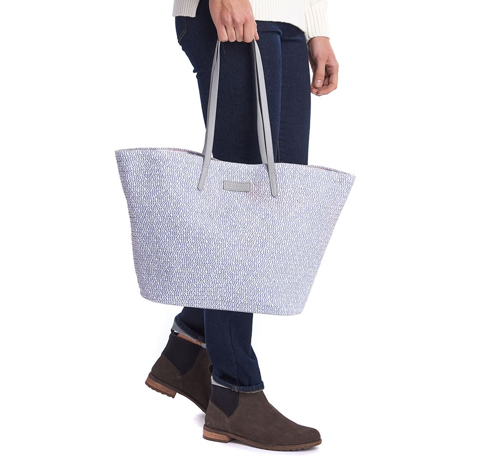 Barbour Cooper Tote in grey