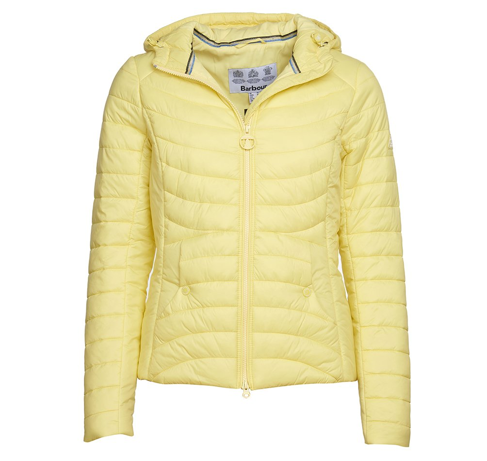 Barbour Ashore quilted jacket in yellow