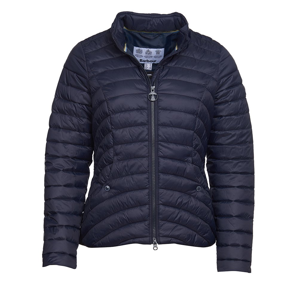 Barbour Shoreward Quilt in Navy