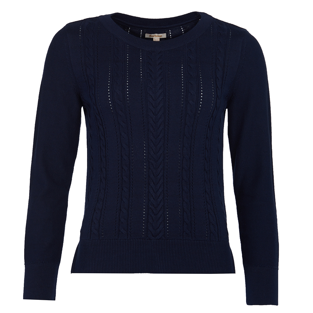 Barbour essential navy sweater