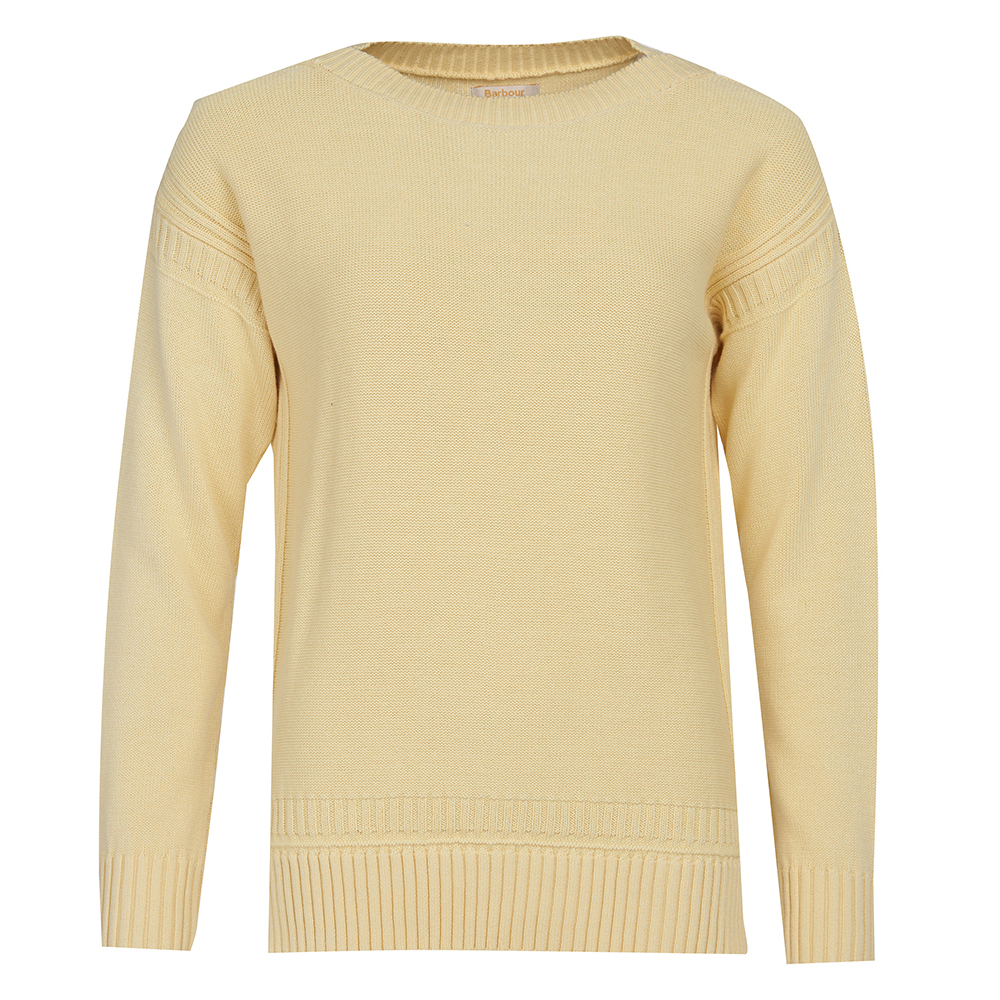 Barbour Sailboat cotton jumper in yellow
