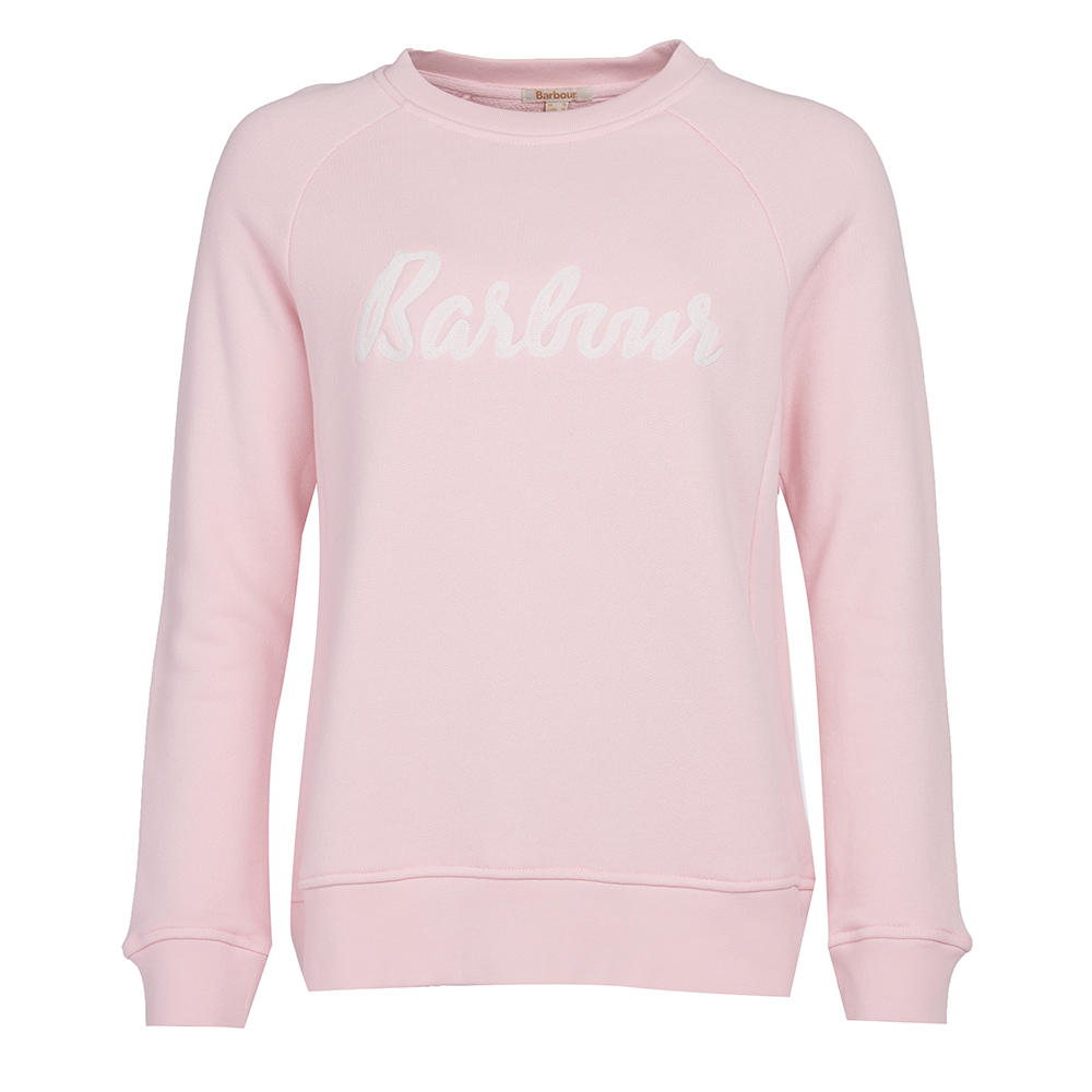 Barbour Ottenburn sweatshirt in pink