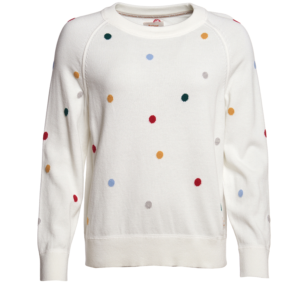 Emma Bridgewater white spot sweater
