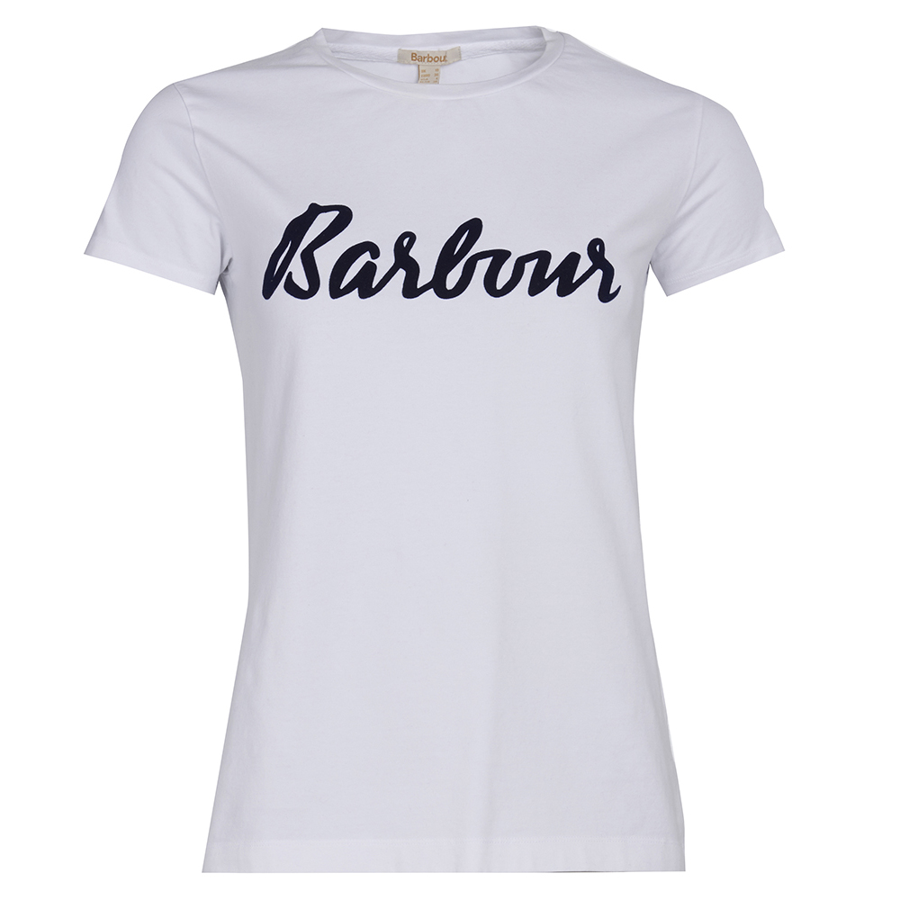 Barbour slogan tee shirt