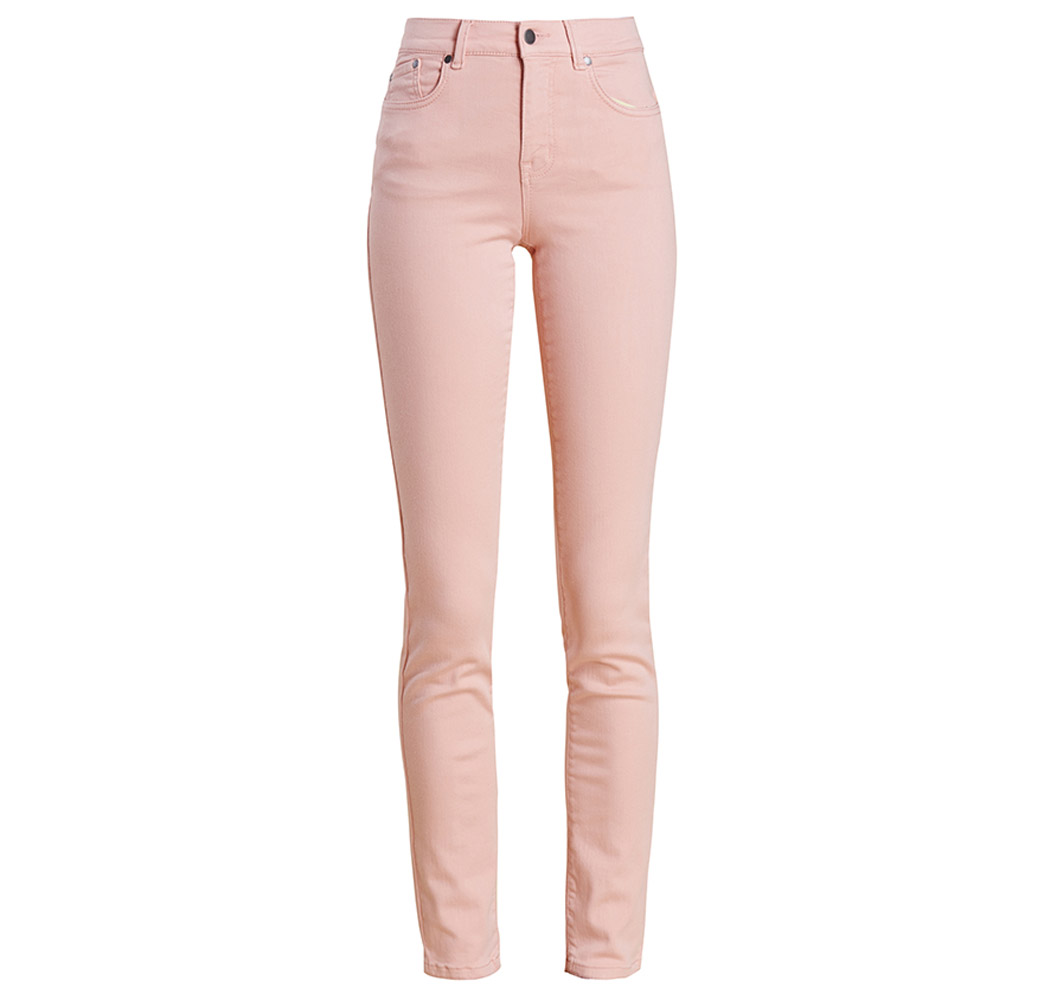 Barbour essential slim trousers in pink