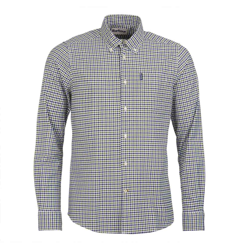 BARBOUR GINGHAM FOREST 11 TAILORED SHIRT