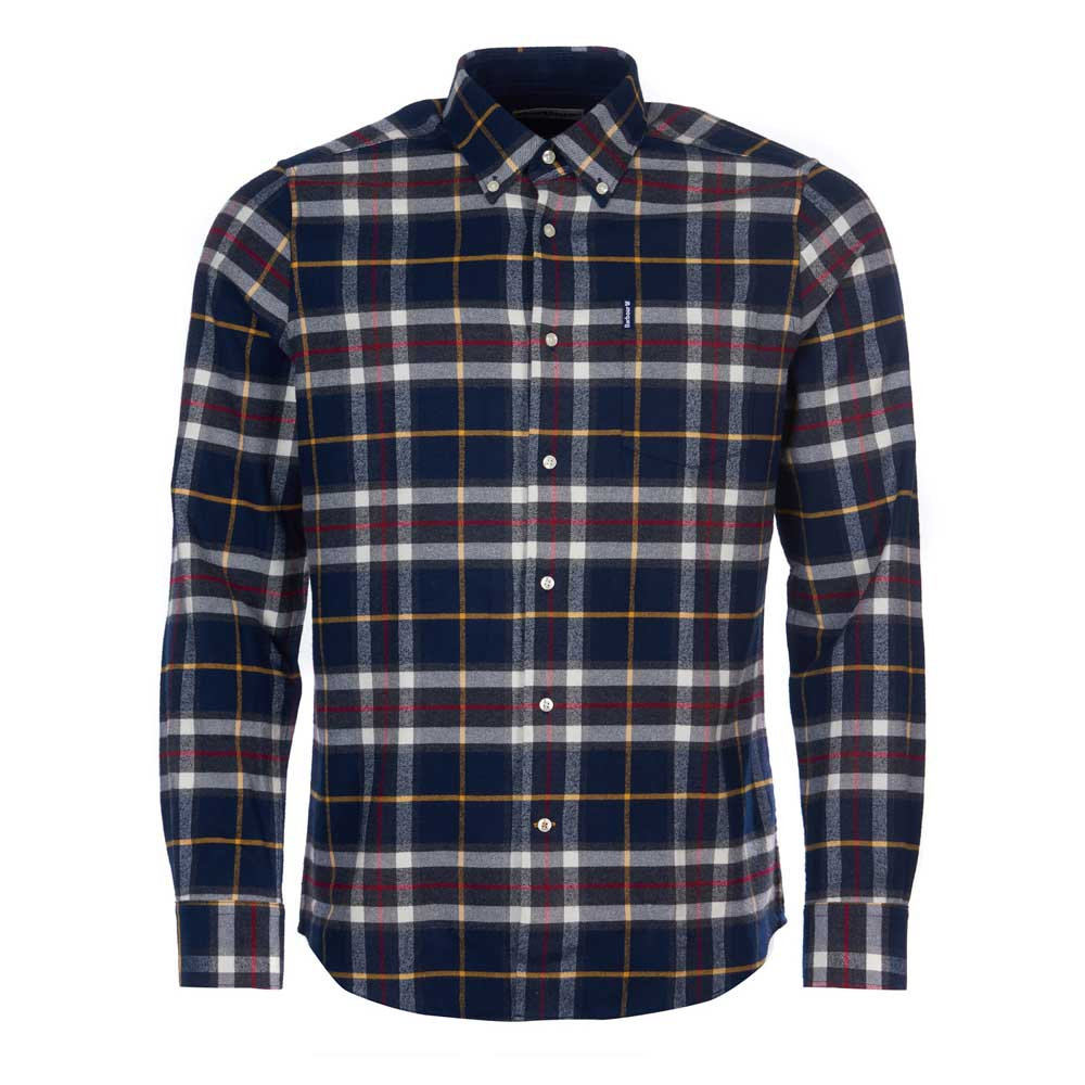 BARBOUR HIGHLAND NAVY CHECK 13 TAILORED SHIRT
