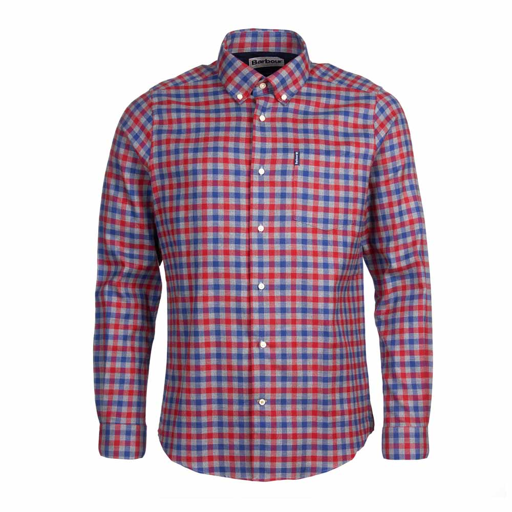 BARBOUR COUNTRY RED CHECK 3 TAILORED SHIRT