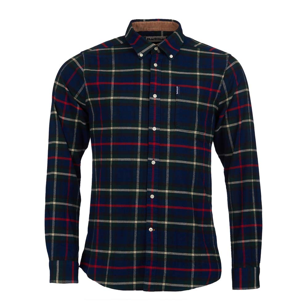 BARBOUR HIGHLAND NAVY CHECK 19 TAILORED SHIRT