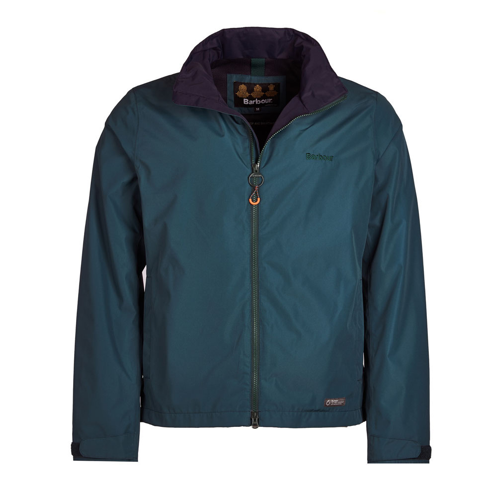 Barbour Rye Spruce Green Waterproof Jacket