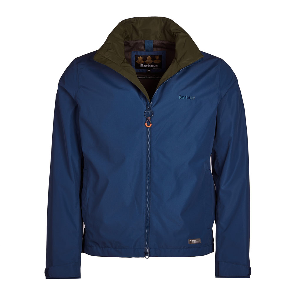 Barbour Rye Peacock Blue Waterproof Jacket
