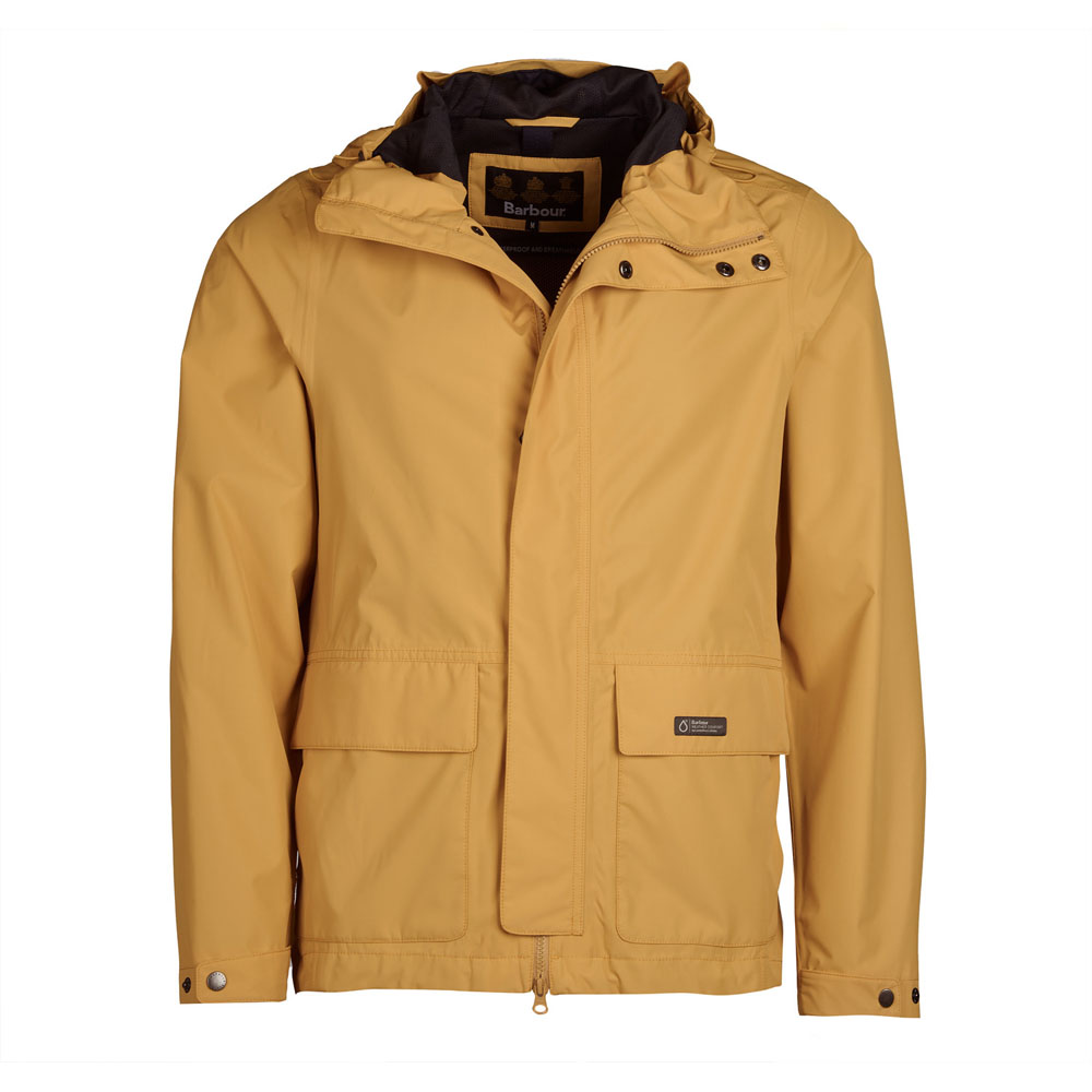Barbour Foxtrot Sun Gold Waterproof Jacket
