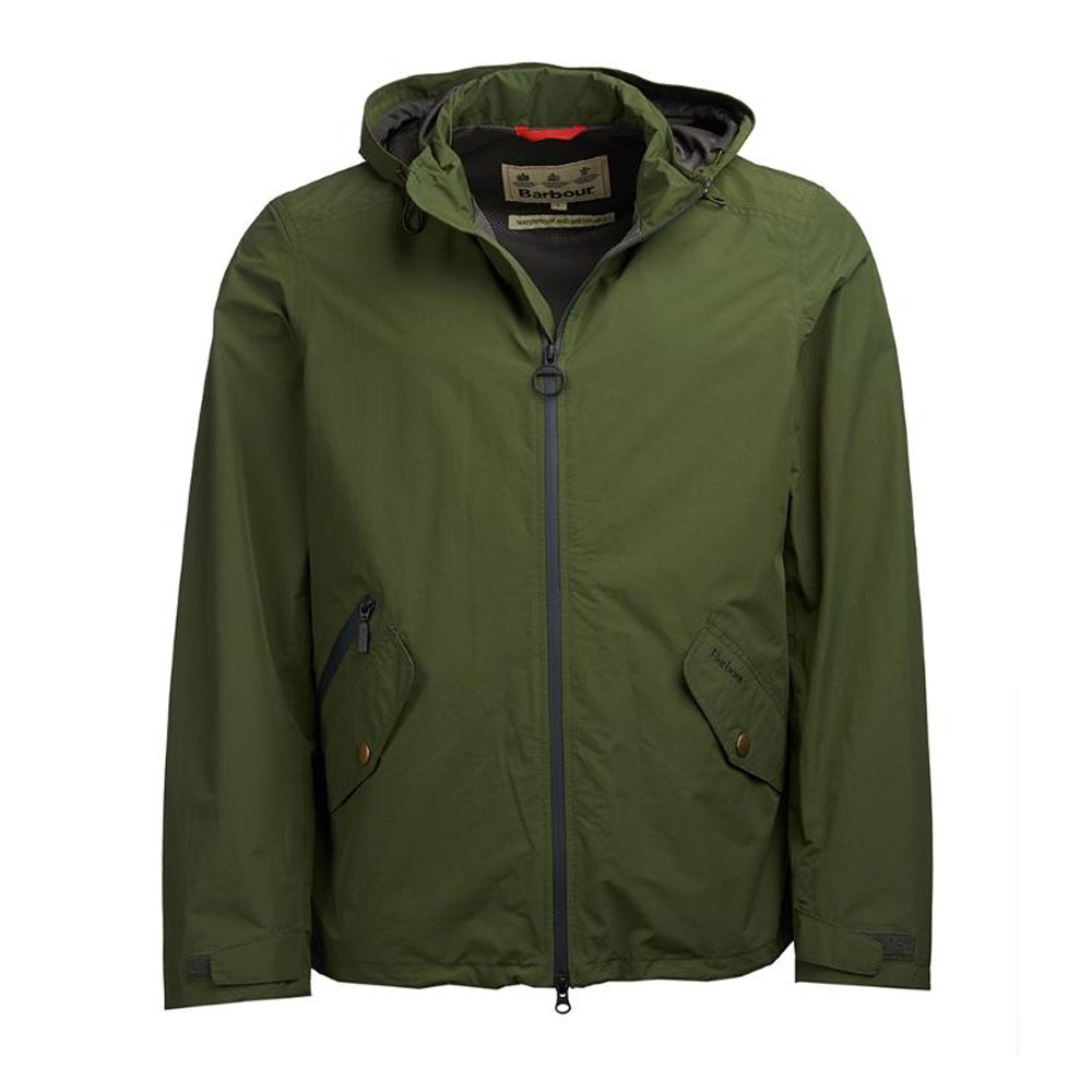 BARBOUR ROSEDALE RIFLE GREEN WATERPROOF JACKET