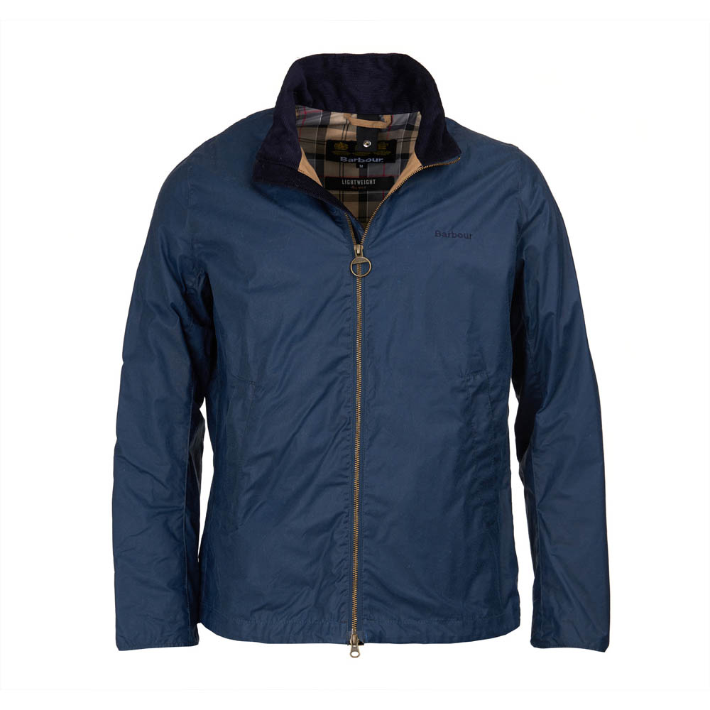 Barbour Admirality Dark Denim Waxed Jacket