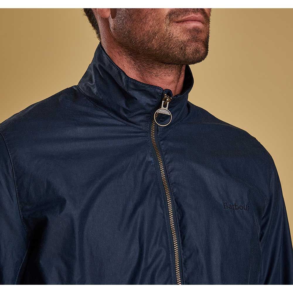Barbour Admirality Dark Denim Waxed Jacket