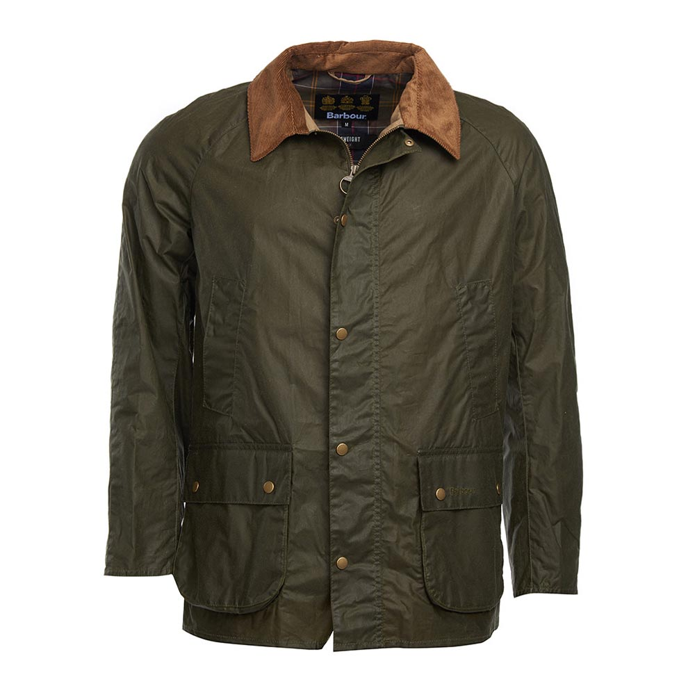 Barbour Ashby Archive Olive Waxed Jacket