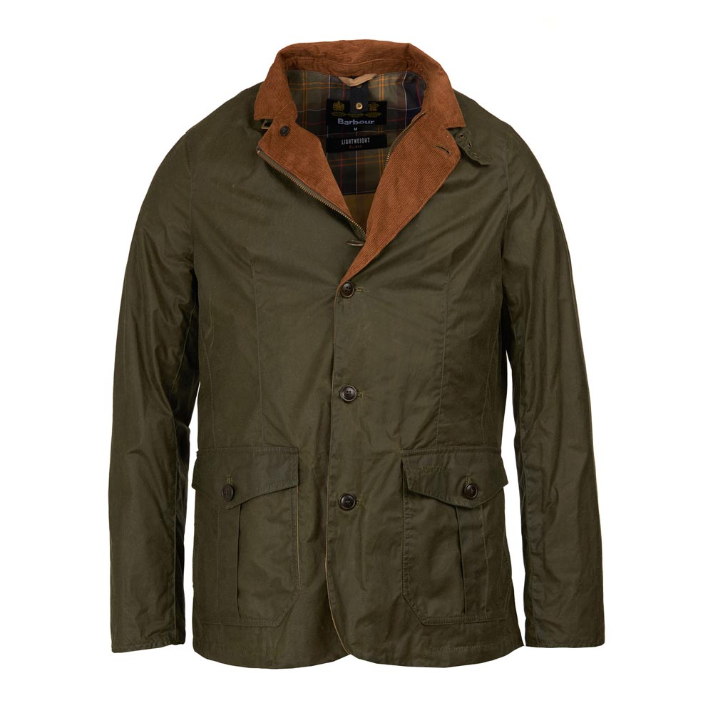 Barbour Sander Archive Olive Waxed Jacket
