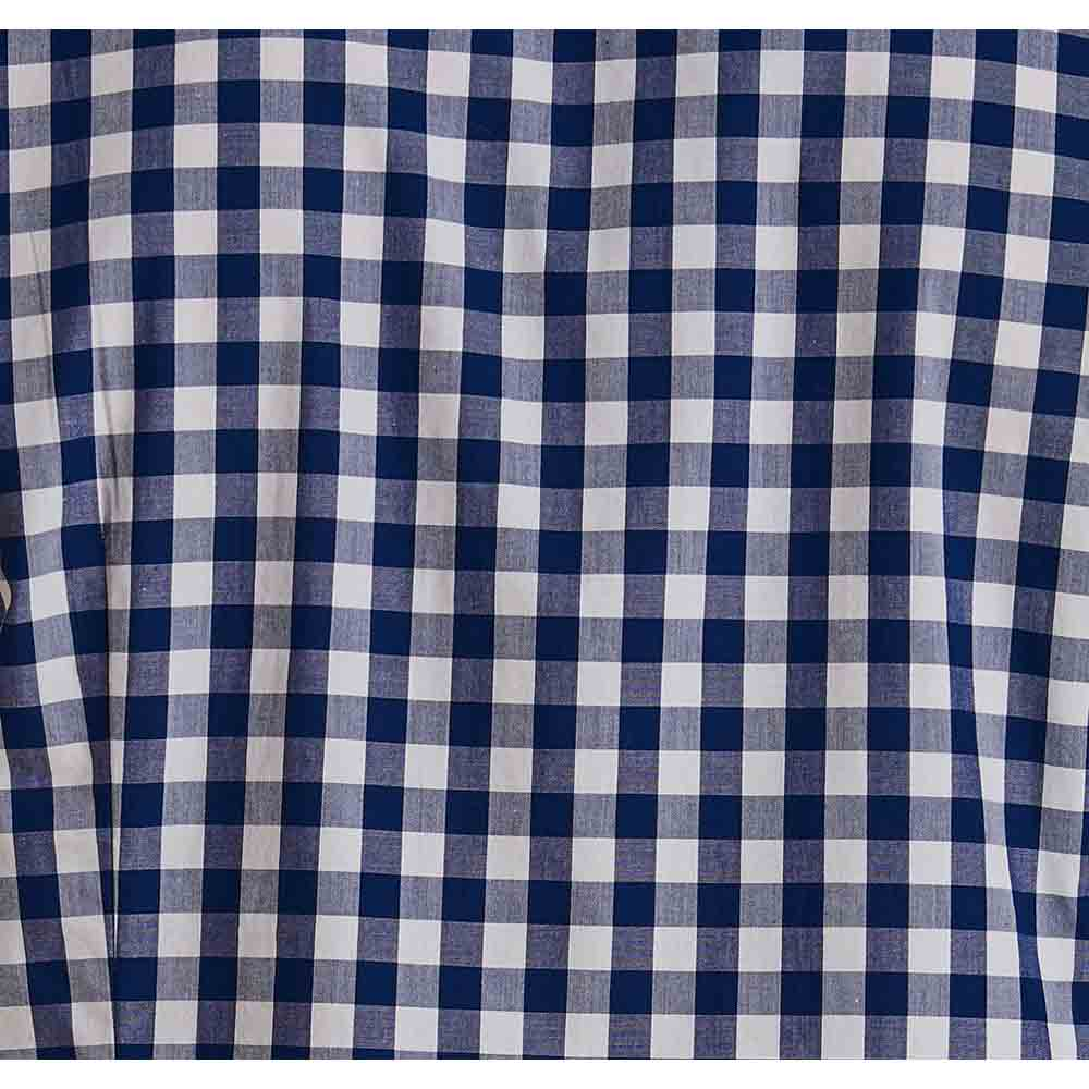 BARBOUR GINGHAM INK BLUE TAILORED FIT SHIRT