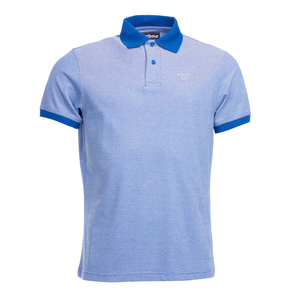 BARBOUR ELECTRIC BLUE SPORTS POLO