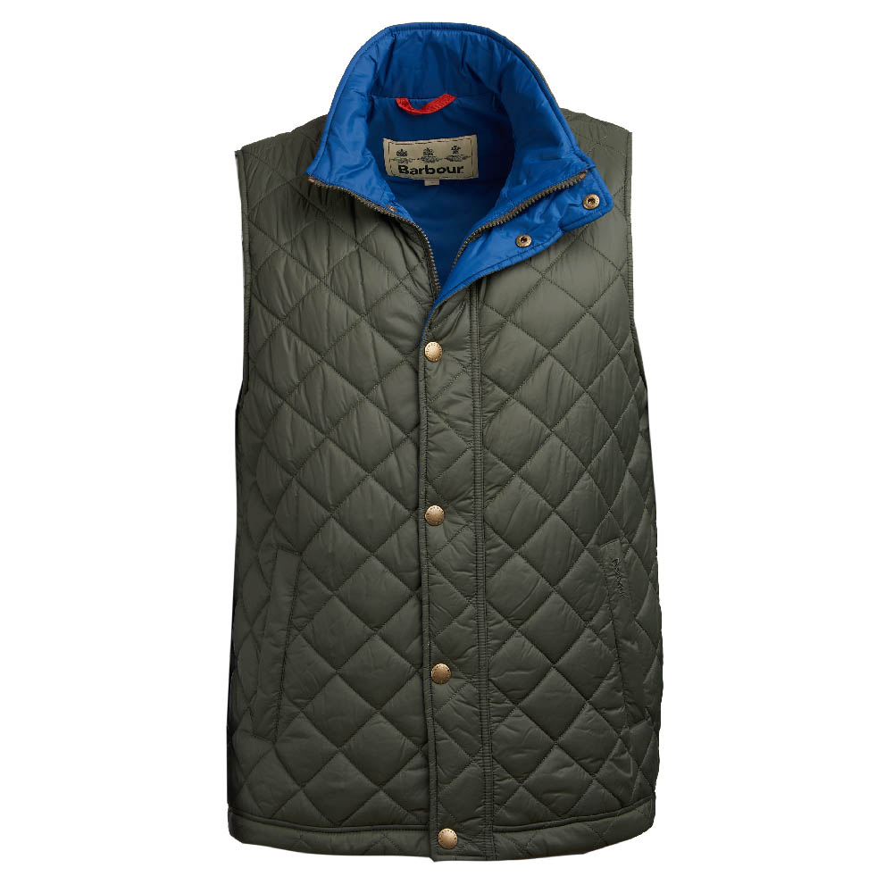 Barbour Ampleforth Gilet in olive