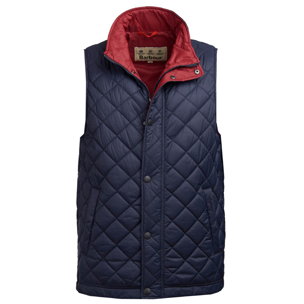 Barbour Ampleforth Gilet in navy