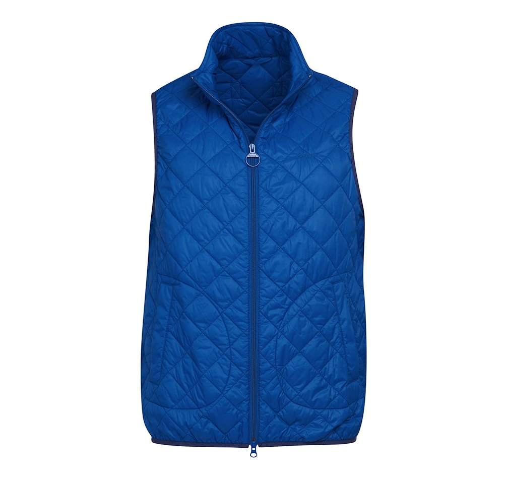 Barbour Kirkham gilet in blue