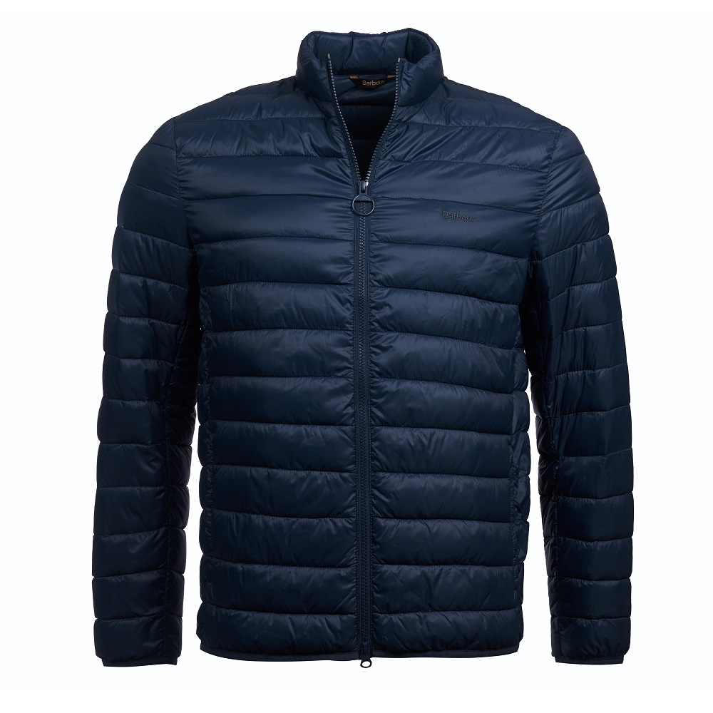 Barbour Penton quilt in navy