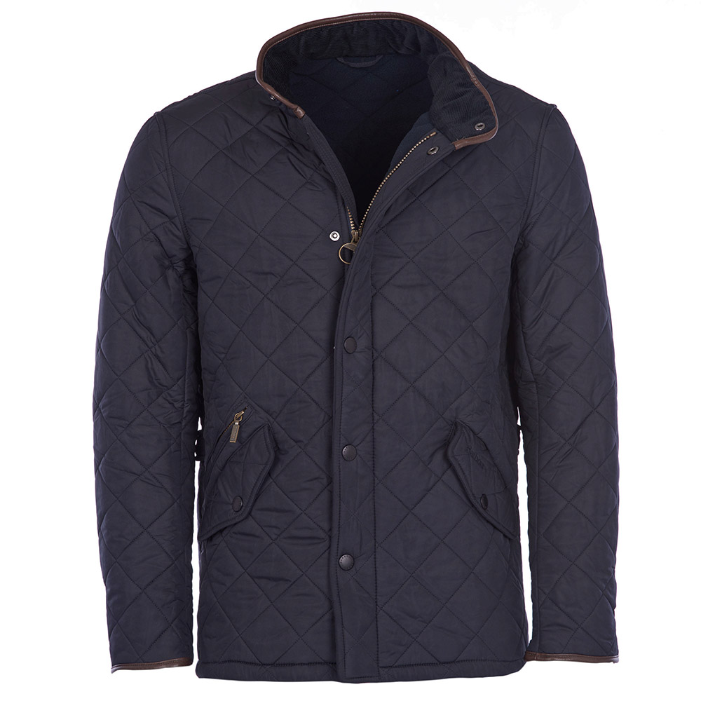 Barbour Powell Quilted jacket in navy