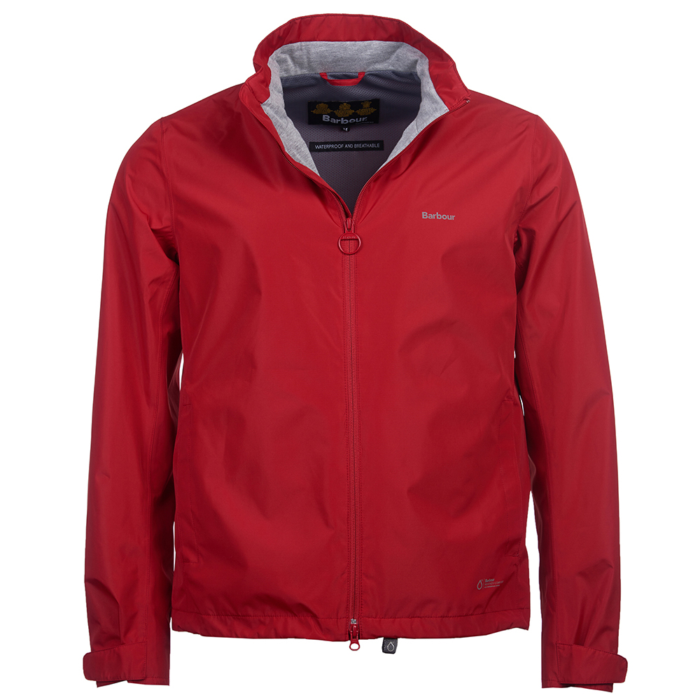 Barbour Cooper jacket in red