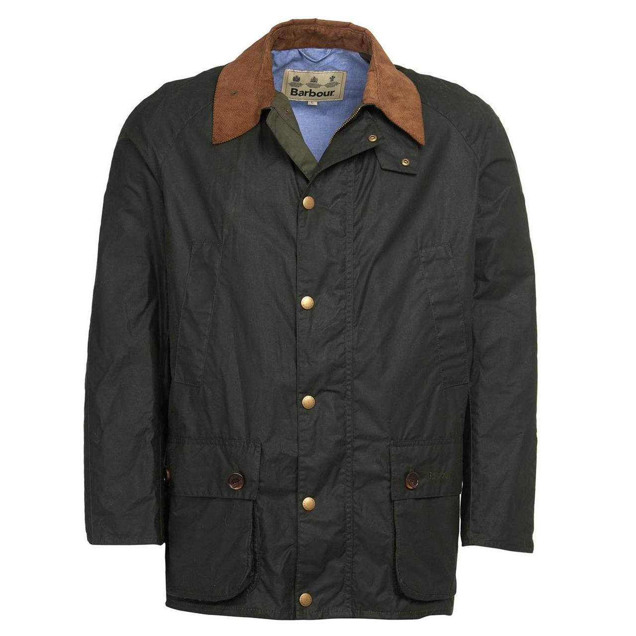 Barbour Hopsack waxed jacket in green