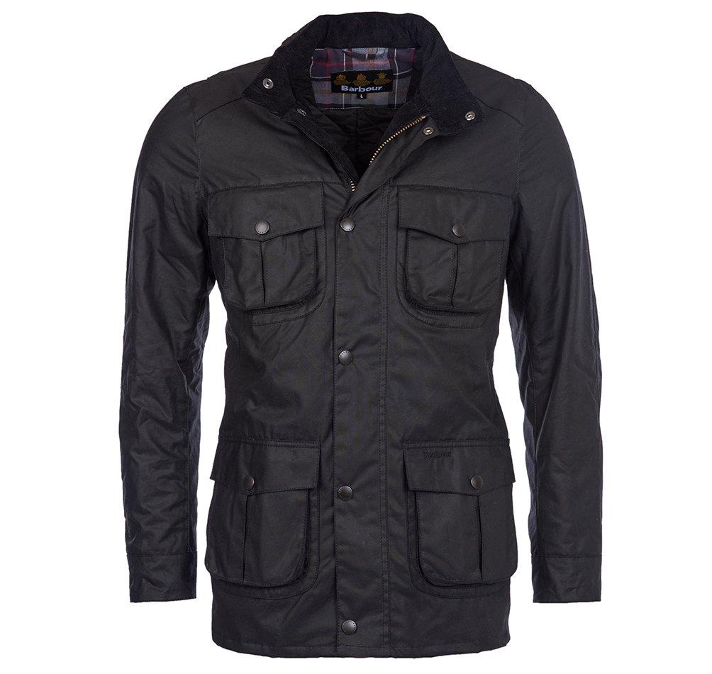 Barbour Corbridge wax jacket in black
