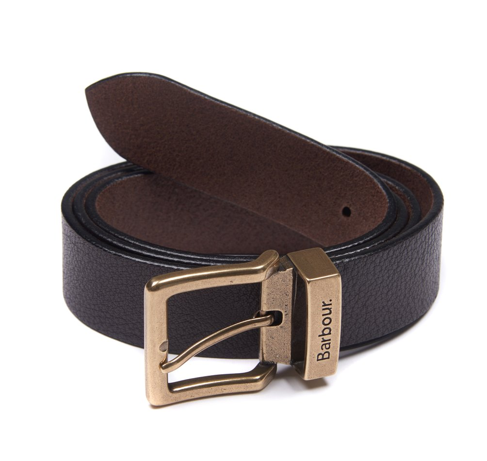 Barbour Blakely belt in brown