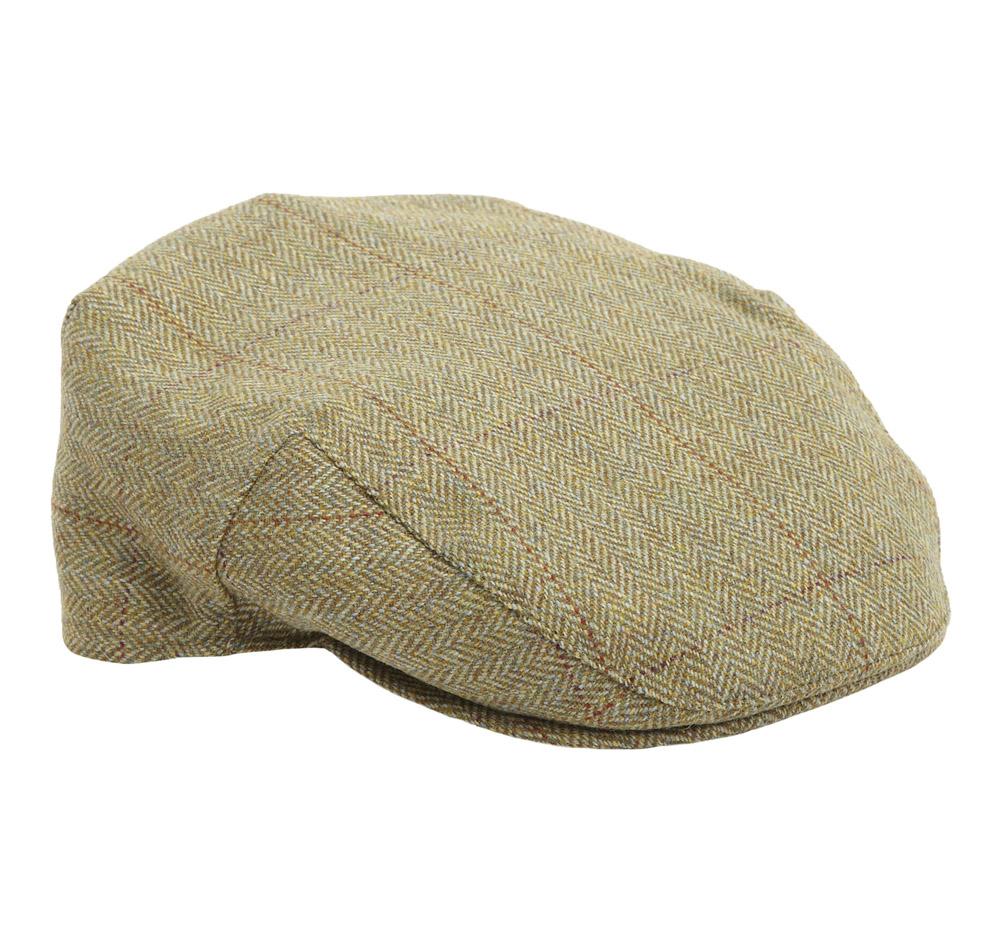 Barbour Crieff tweed khaki Harringbone check