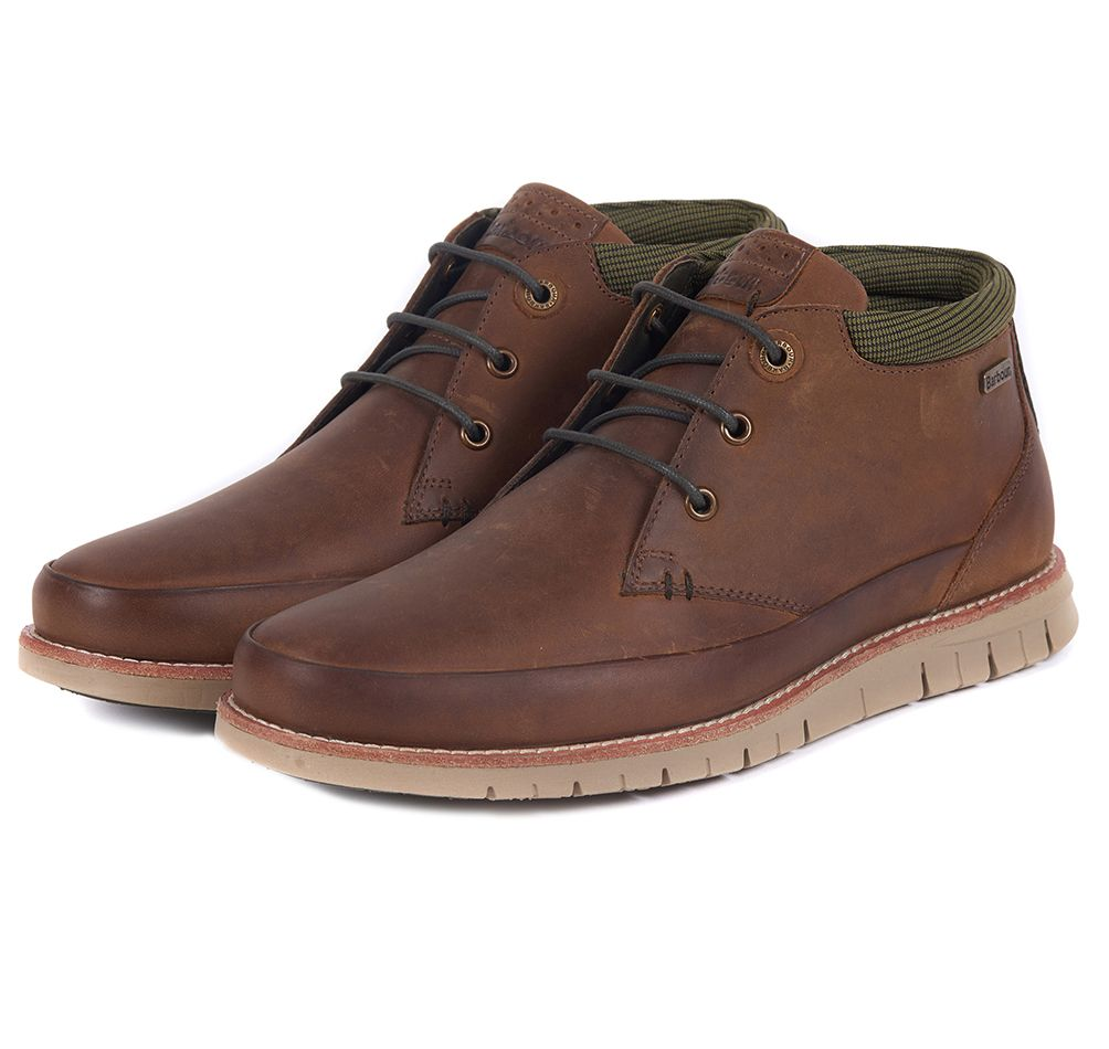 Barbour Nelson brown boots