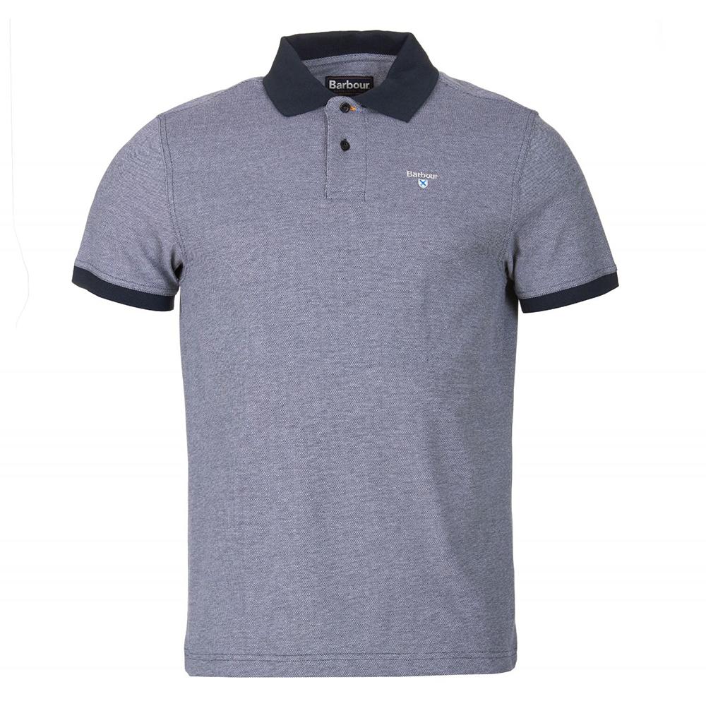 Barbour Sports polo in midnight blue
