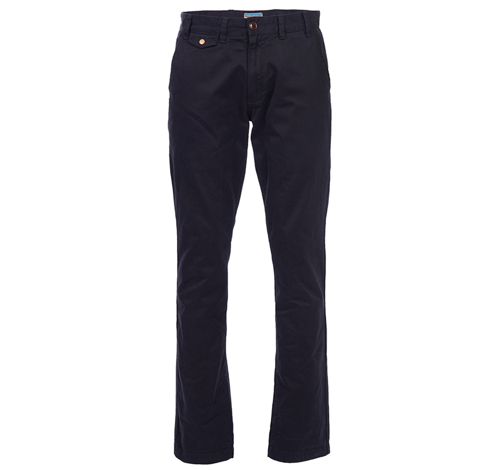 Barbour Neuston Twill Navy Chino