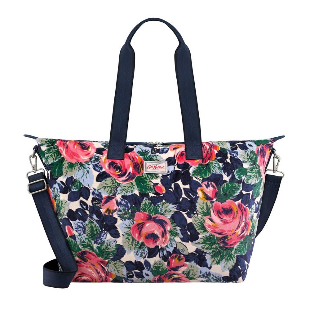 Cath Kidston Oxford Rose Velvet Overnight Bag