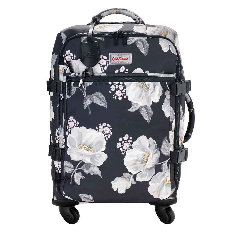 Cath Kidston Wild Poppies Four Wheel Cabin Bag