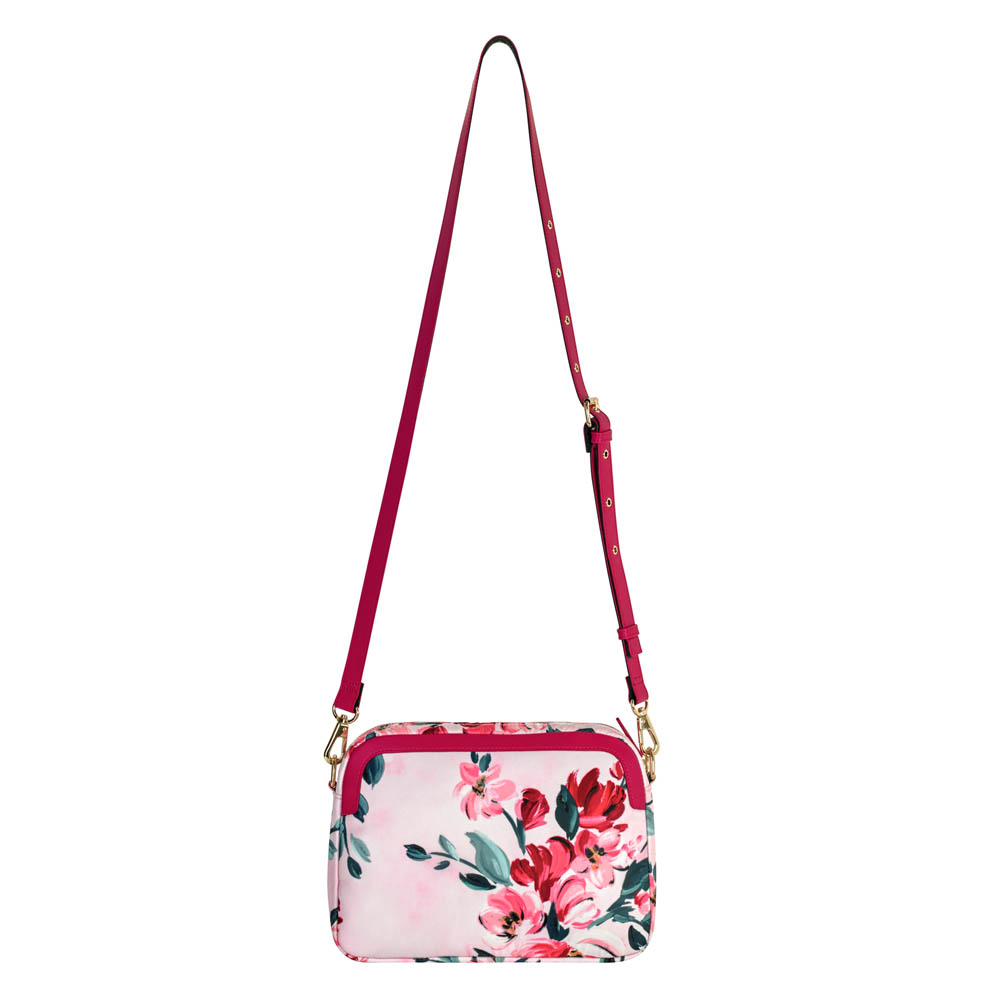Cath Kidston PAINTBOX FLOWERS ASTER CROSS BODY Bag