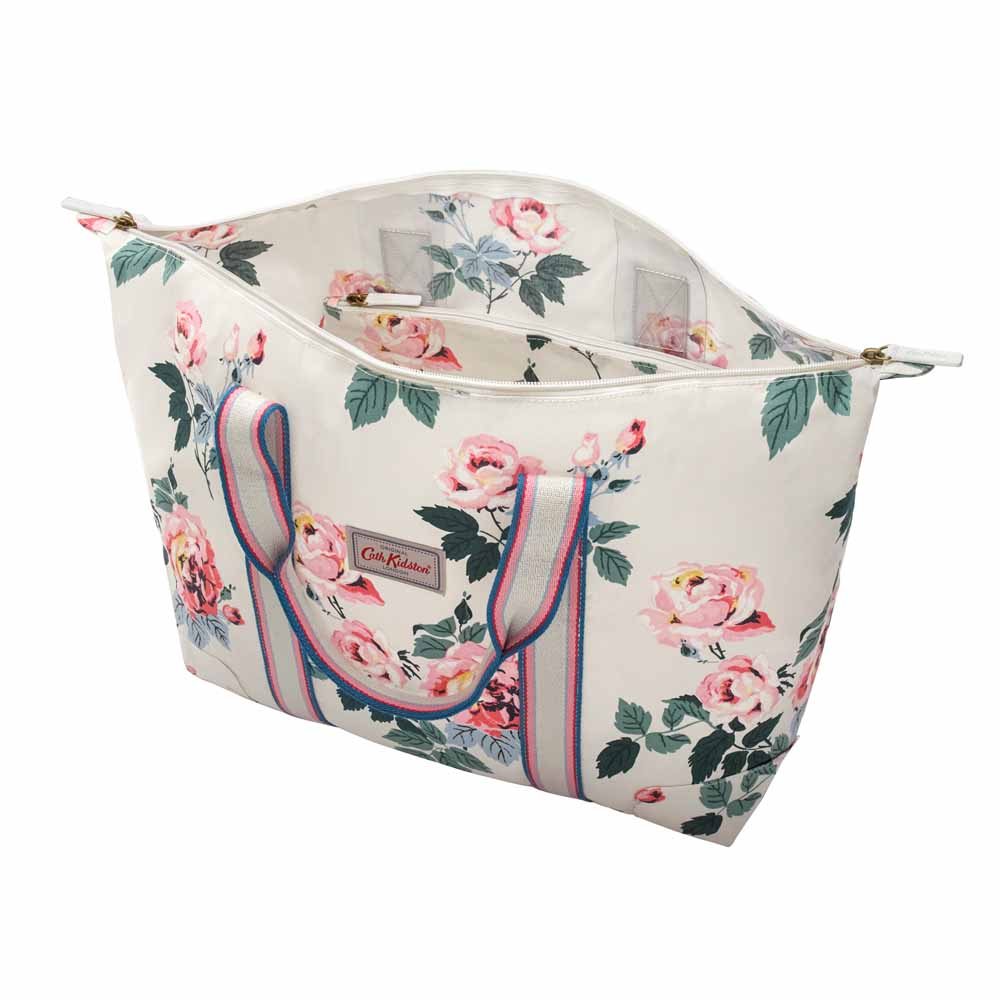 Cath Kidston Eiderdown Rose Foldaway Overnight Bag