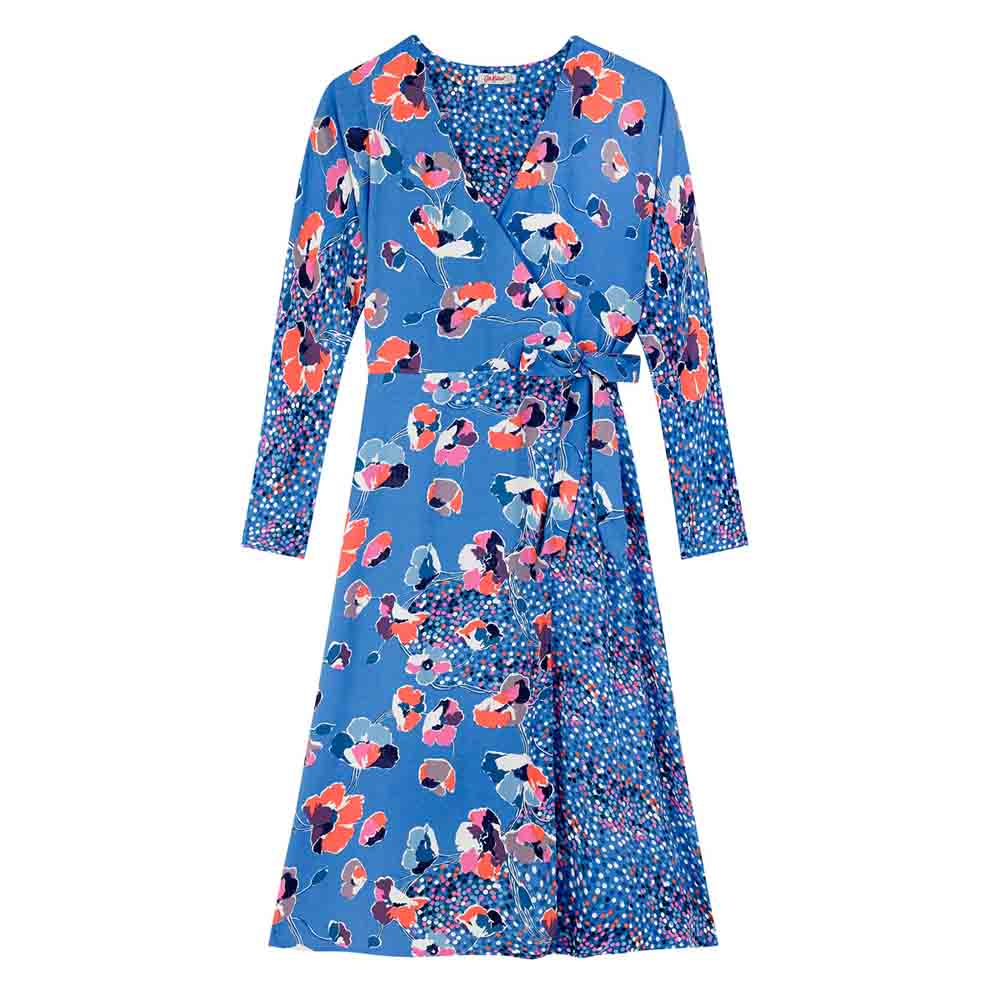 CATH KIDSTON SKETCHBOOK BLOOM FAUX WRAP DRESS