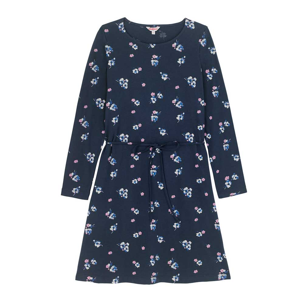 Cath Kidston PRIMROSE SPRAY COTTON JERSEY DRESS