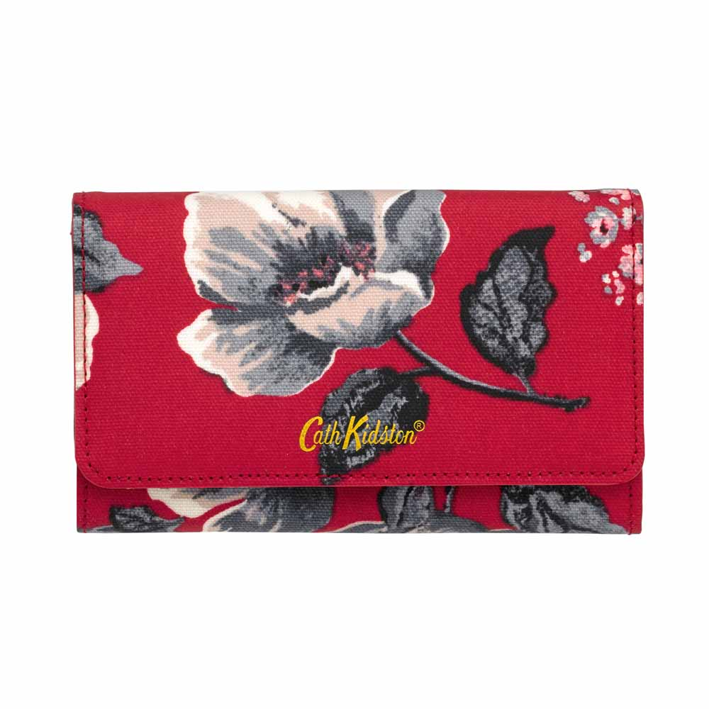Cath Kidston Wild Poppies Medium Wallet