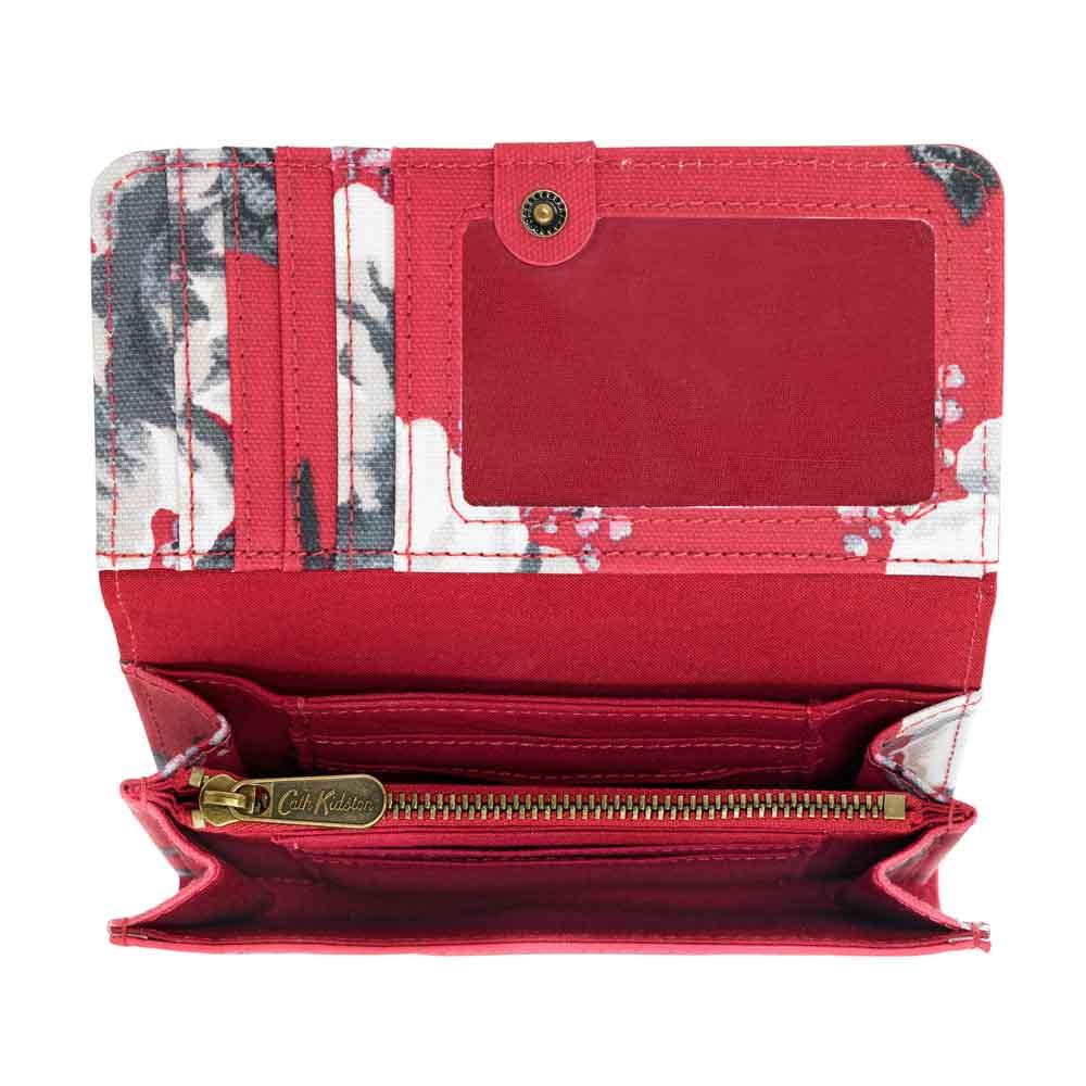 Cath Kidston Wild Poppies Medium Wallet