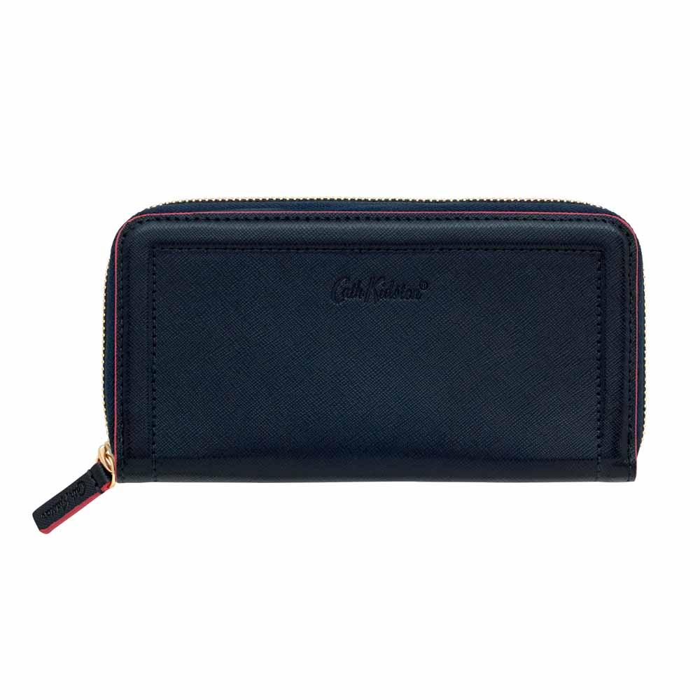 Cath Kidston Navy Continental Zip Wallet